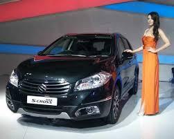new car launches auto expo 2014Auto Expo 2014 Maruti Suzuki India unveils SX4 SCross crossover