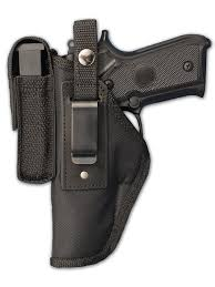 Handgun Magazine Holders Amazon New Barsony Gun OWB Belt Holster w Magazine Pouch 57