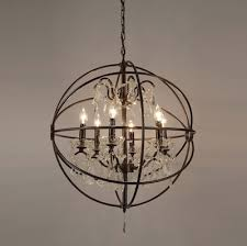 small rustic crystal chandeliers with fashionable rustic orb chandelier good furniture small chandeliers mini