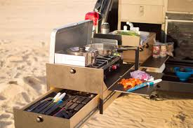 Camper Trailer Kitchen Slide Out Truck Kitchen For Overland Vehicles