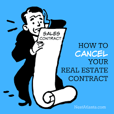 How Can I Get Out Of My Real Estate Contract?