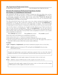 resume professional accomplishments examples territory manager