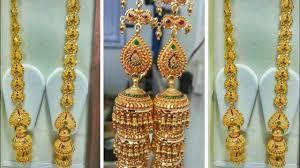 Gold Jhumka Designs For Bridal Big Gold Jhumka Designs For Bridal Party Wear