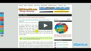 giftzone365 official how to get free itunes gift card from giftzone365 on vimeo