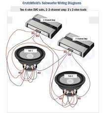 2 amps 2 subs wiring diagram Sub Wiring Dual 1 How To Wire Amp And Sub Diagram #19