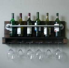 wall mounted wine glass rack nice shelf design ikea uk