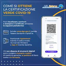 ASL Salerno - Come scaricare la tua Certificazione verde COVID-19 (Green  Pass) 🟢