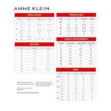 Anne Klein Plus Size Chart Anne Klein Bouquet Womens Slim Ankle Cropped Pants At Amazon