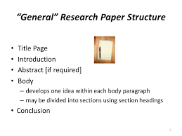 apa pointers how to organize format research papers ppt general research paper structure