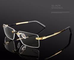 titanium eyeglasses rimless oculos de sol fashion brand designer eyeglasses frame masculino men prescription glasses 1083