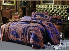 luxury bedding set 4pcs king size le silk duvet cover dobby gold bedclothes coverletblack and sets