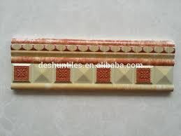 Listellos And Decorative Tile decorative skirting Embossing Listello border tiles View wall 49