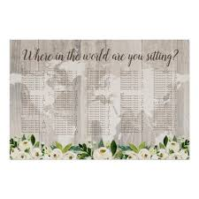 Great Woods Seating Chart Where In The World Rustic Map Wood Seating Chart