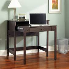 office desks for small spaces. Amazing Workspace Design Ideas Using Small Spaces Office Desk : Cool Dark Brown Extendable Wooden Desks For E