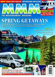 subscription to mmm magazine the uk s best selling motorhome magazine