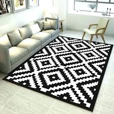ikea white and black rug black and white rug black and white geometric pattern carpet trend