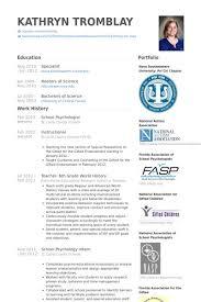 Psychology Resume Templates Psychology Resume Sample Psychology Resume  Templates Branch Template