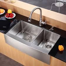 stylish design kraus sinks kraus sinks kraus khf203 36 36 inch farmhouse a double bowl