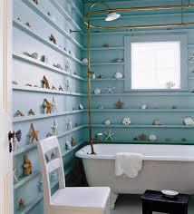 bathroom design themes. Bathroom Interior : Beach Theme Design With Coral And Shell Decors, Magazine Themes D