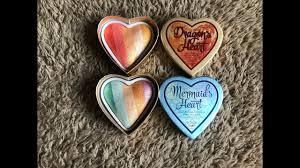 i heart makeup dragons heart mermaids heart