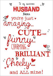 Awesome Husband Valentine Shortlist this. Awesome Husband Valentine's Day  Card