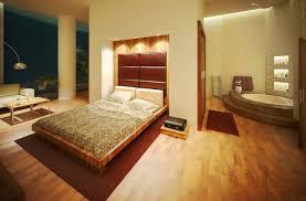 Modern bedroom with bathroom Ocean View Modern Bedroom Design With Open Bathroom Concept Interior Vogue Modern Bedroom Design With Open Bathroom Concept Interior Vogue