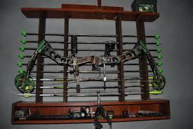wooden bow rack plans marvelous recurve storage kitchen plans large