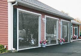 garage screen door slidersRetractable Garage Door Screens  ScreenEx