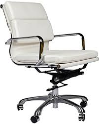 Image Replica Eames Style Executive Leather Office Chair White Better Homes And Gardens New Savings On Eames Style Executive Leather Office Chair White