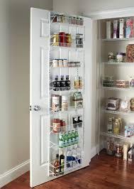 Kitchen Closet Organization Amazoncom Closetmaid Adjustable 8 Tier Wall And Door Rack 18