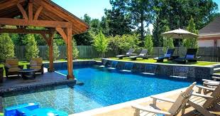 above ground pool hot tub combo above ground spa landscape ideas house plans lap pool spa