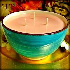 Turquoise Decorative Bowl Candles By Victoria Highly Scented Candles Wax Tarts 56
