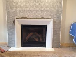 linen white concrete fireplace surround traditional wet poured concrete flowed into the smooth lined custom mold