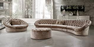 luxury curved tufted sofa 81 on contemporary sofa