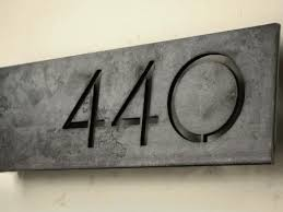 modern mailbox numbers. Delighful Numbers Modern House Numbers U2013 Offset Throughout Mailbox D