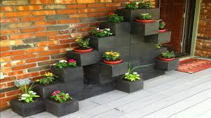 diy patio bench cinder block ideas concrete blocks for fire pit