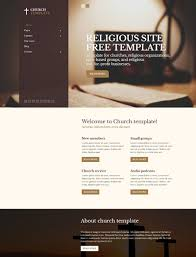 Free Church Website Templates Wonderful Church Religious Free Joomla 24x Template Joomla Templates