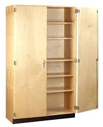 wood storage cabinets with doors and shelves elegant cabinet tall ideas wooden
