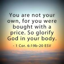 Image result for verse peter says we the body is the temple
