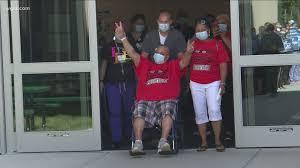 COVID-19 patient leaves ECMC after 128 days | wgrz.com