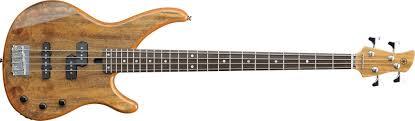 yamaha bass guitar. yamaha bass guitar exotic wood trbx174ew natural