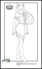 Disney Princess Pocahontas Coloring Pages - Eliolera.com