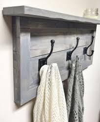 Large Coat Rack With Shelf Large Hallway Coat Rack With Shelf and 100 Cast Iron Or Silver Hooks 80