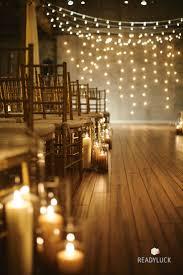rustic wedding lighting. 25 romantic winter wedding aisle dcor ideas rustic lighting