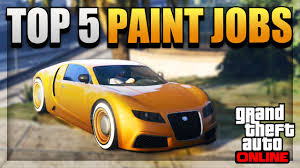 Test Paint Color Online Gta 5 Top 5 Paint Jobs Car Color Schemes Online Best Rare
