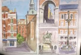 paintings of madrid