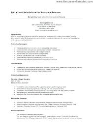 Sample Executive Assistant Resume Objective | Nfcnbarroom.com