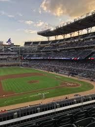 Atlanta Braves Suntrust Park Seating Chart Suntrust Park Section 233 Row 4 Seat 9 Atlanta Braves Vs