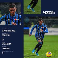 Ole gunnar solskjaer amad diallo could be handed his manchester united debut after ole gunnar solskjaer included the. Amad Traore Atalanta S Teen Sensation Linked With Europe S Elite Goal Com