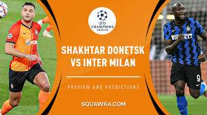 Shakhtar v Inter Milan predictions, team news & live stream info